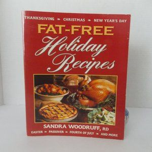 Other - FAT-FREE Holiday Recipes by Sandra Woodruff, RD